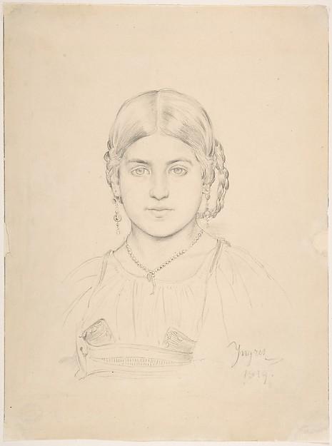 Bust of a Gypsy Girl