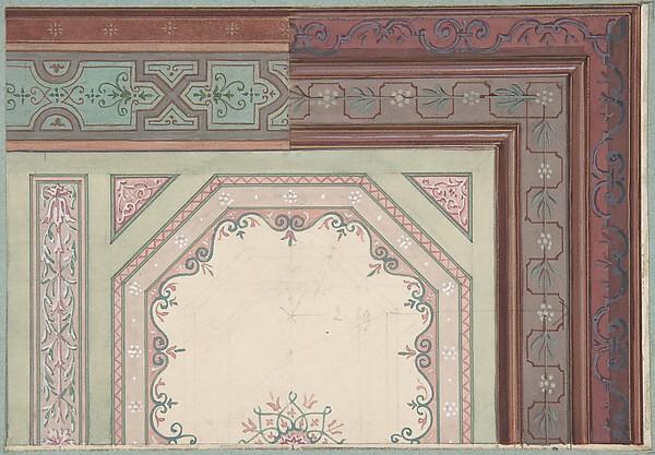 Ceiling design, Castle Blayney