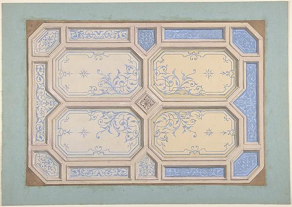 Design for Ceiling, Hôtel Hope