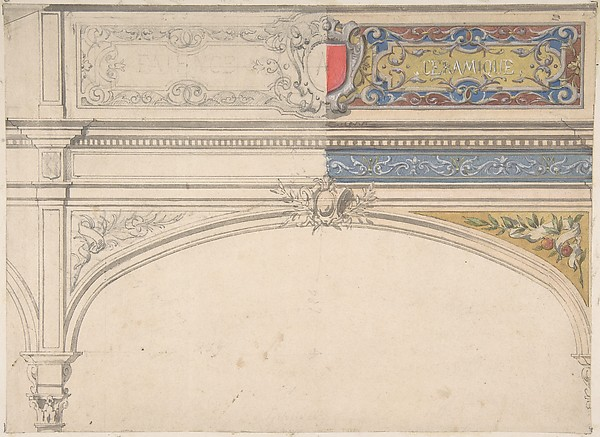 Design for Decorated Archway, Monaco Pavillion