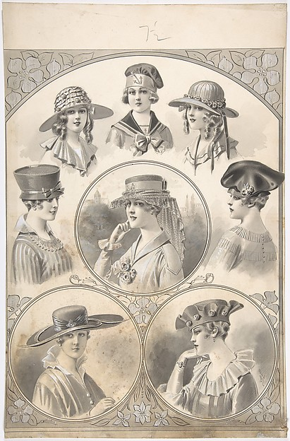 Designs for Hats for Women and Girls