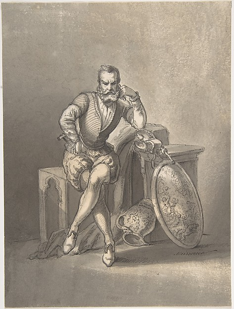Portrait of a Sculptor, Seated