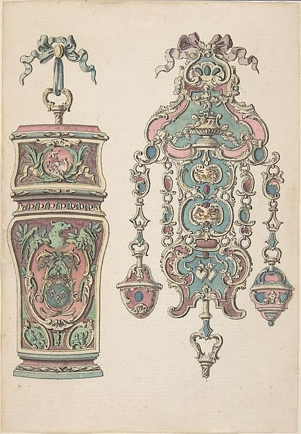 Designs for an Etui and a Chatelaine