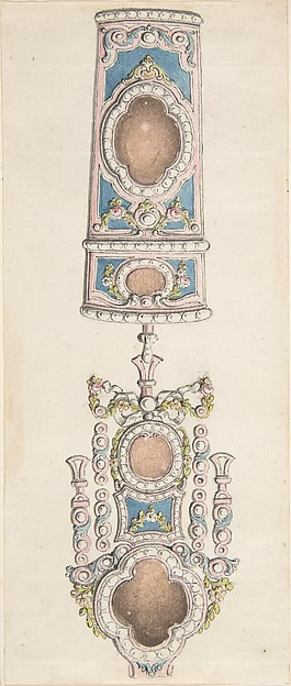 Designs for a Chatelaine and an Etui