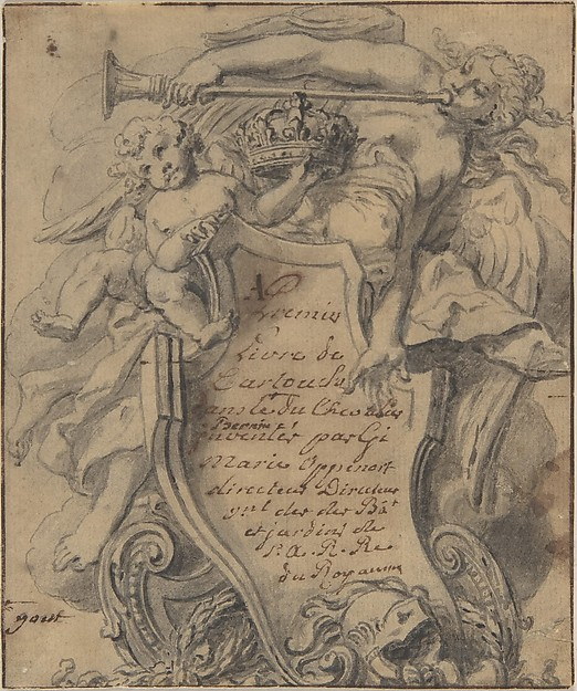Study for a Cartouche