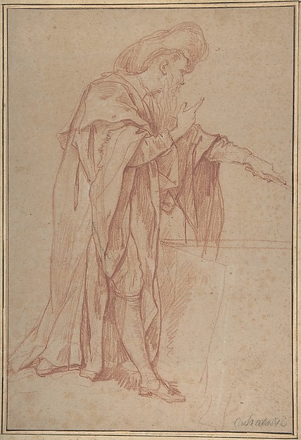 Standing Male Figure with Left Arm Extended