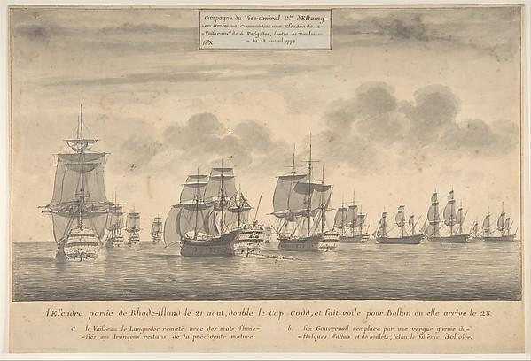 Campagne du Vice-amiral Cte d'Estaing
