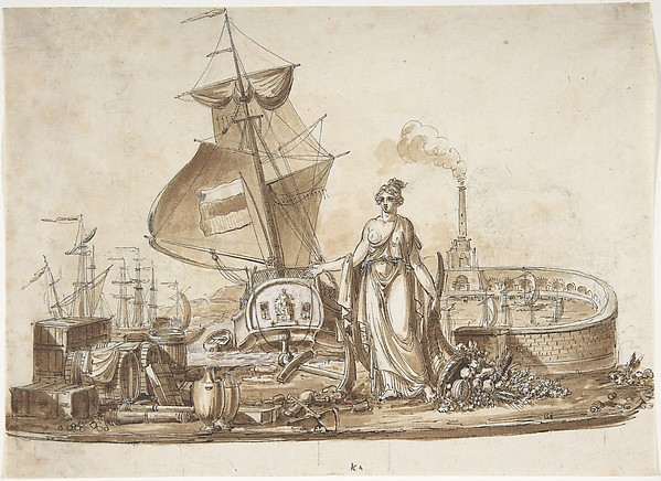 Allegory of Shipping