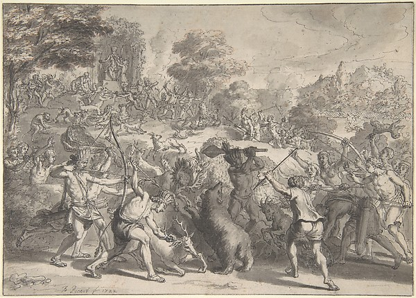 Mexican Sacrifice to the God of Hunting