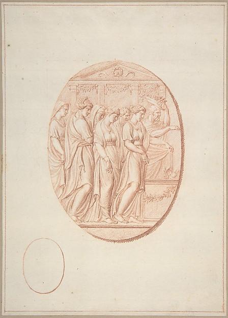 Figures before an Altar