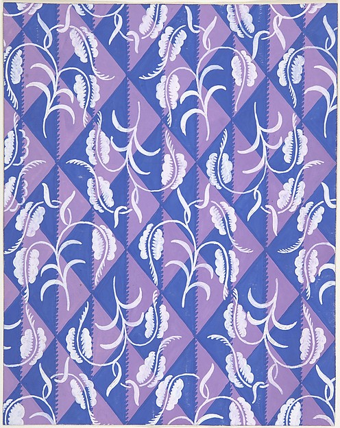 Fabric Design with Diamond Pattern