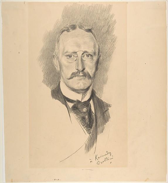 Portrait of Edward G. Kennedy (1849-1932)