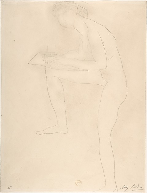 Sketch for Figure on Whistler Monument