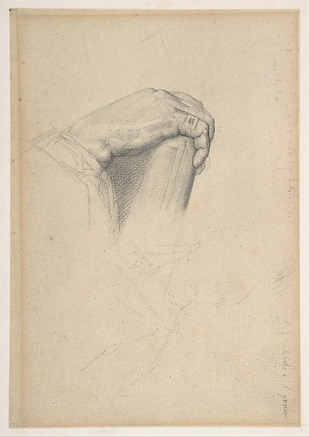 The Hand of Poussin, after Ingres