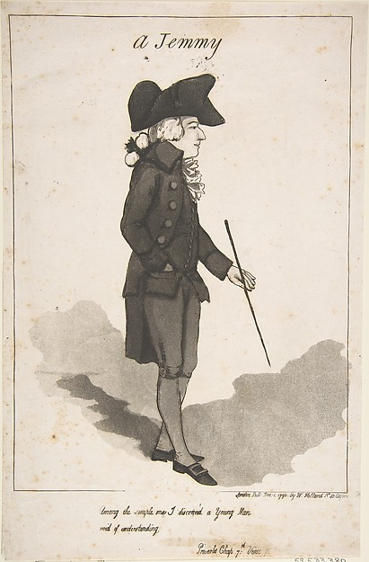 Fascinating Historical Picture of George Moutard Woodward with A Jemmy on 12/1/1790
