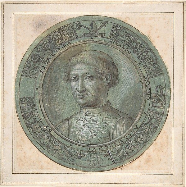 Portrait of Rinaldo Orsino, Archbishop of Florence