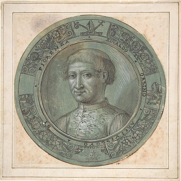 Portrait of Rinaldo Orsino, Archbishop of Florence (1474-1508)