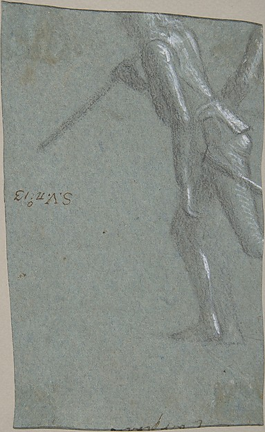 Saint Jerome (recto); Soldier with a Spear (verso)