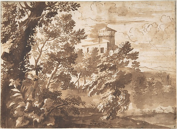 Wooded Landscape with a Tower