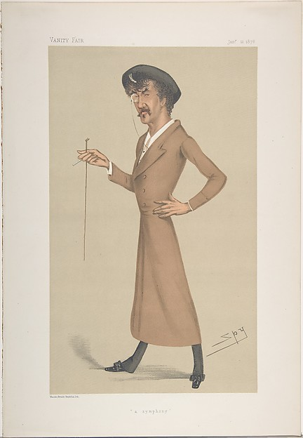 A Symphony (Caricature of James McNeill Whistler), from Vanity Fair Magazine