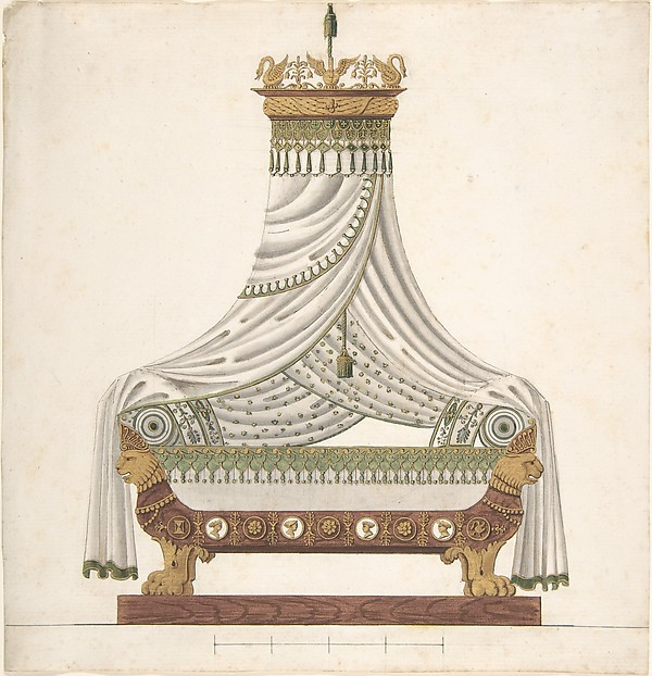 Design for Canopy Bed