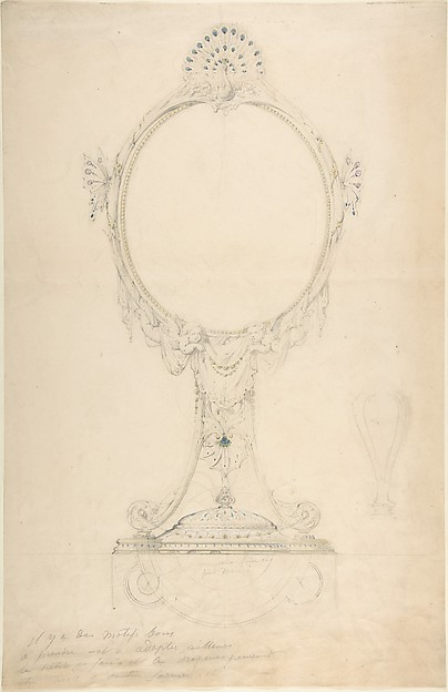 Design for an Enamelled Mirror
