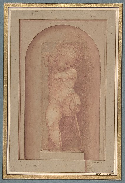 Putto Bending a Bow