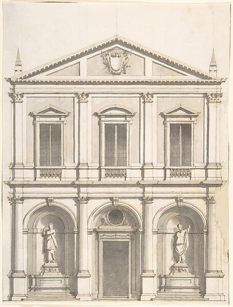 Design for a Church Façade