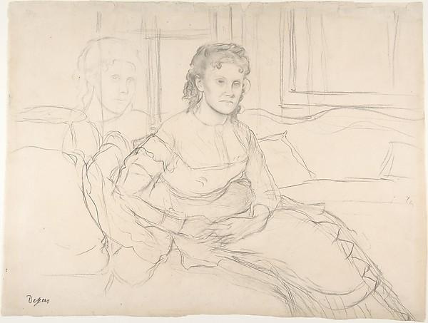 Study for Mme Théodore Gobillard