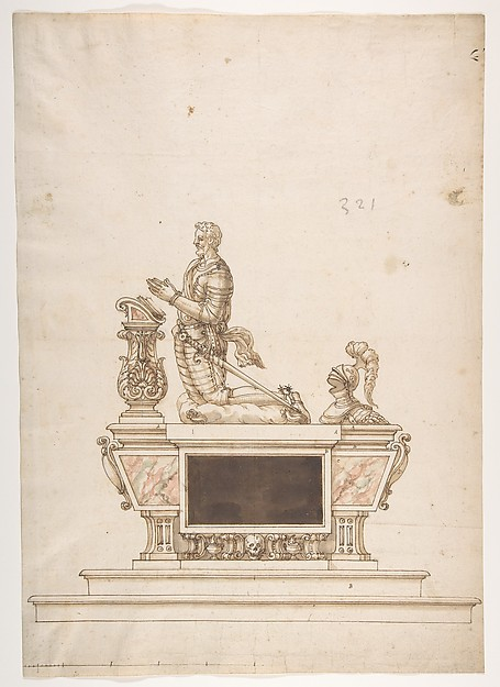 Design for a Man's Tomb