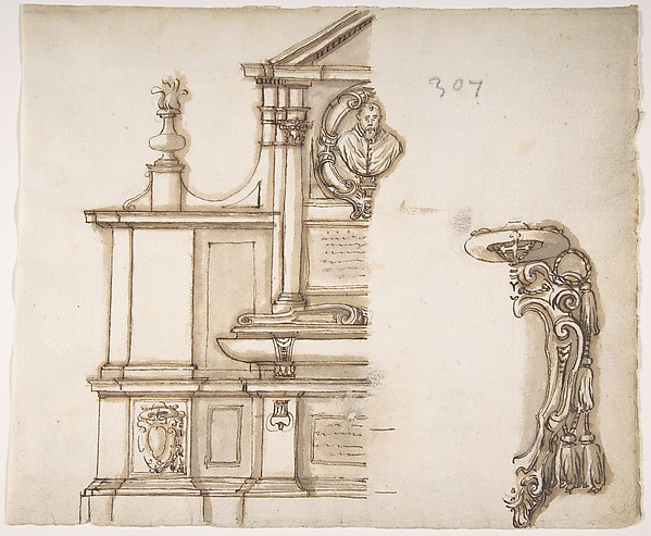 Design for a Tomb for a Cardinal