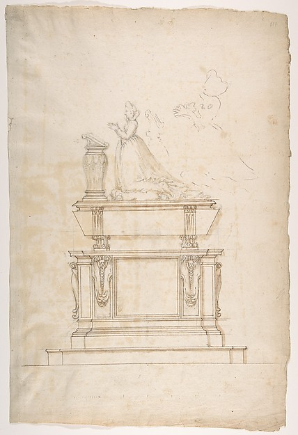 Design for a Lady's Tomb