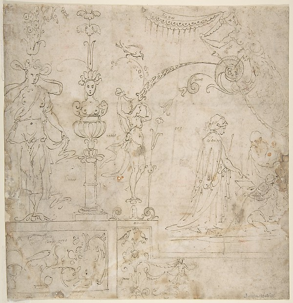 Design for a Grotesque Wall Decoration