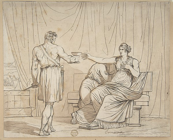 Death of a Roman Matron
