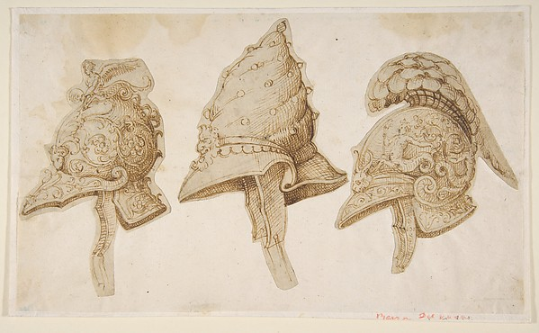 Three Designs for Helmets