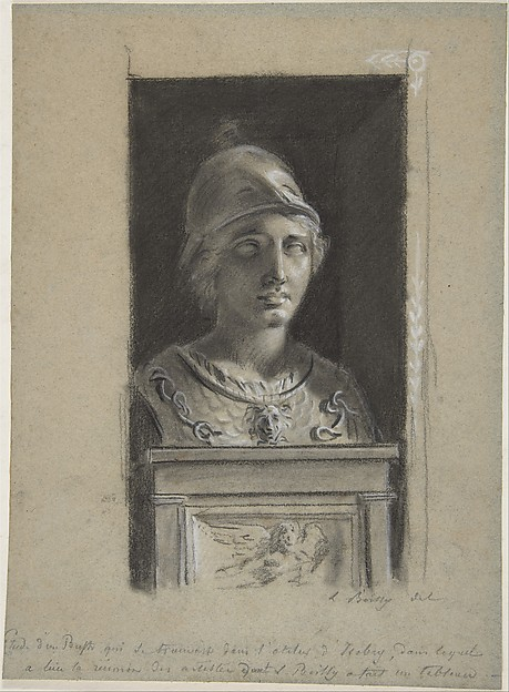 Minerva (Study after a Sculpture)