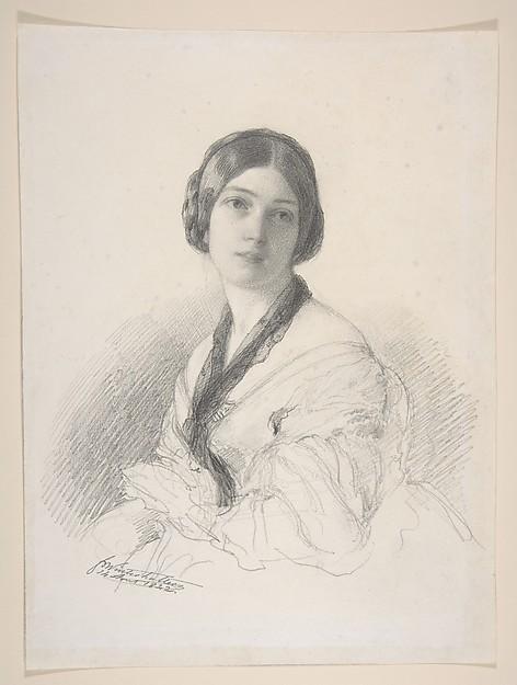 Portrait of Baroness Gudin, née Margareth Louis Hay