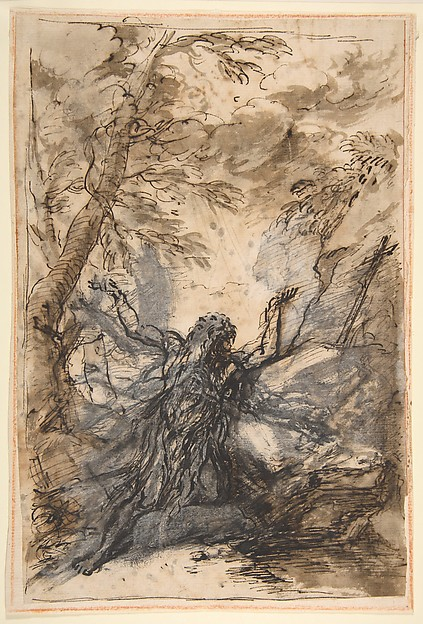 Fascinating Historical Picture of Salvator Rosa with St. Paul Hermit in 1615
