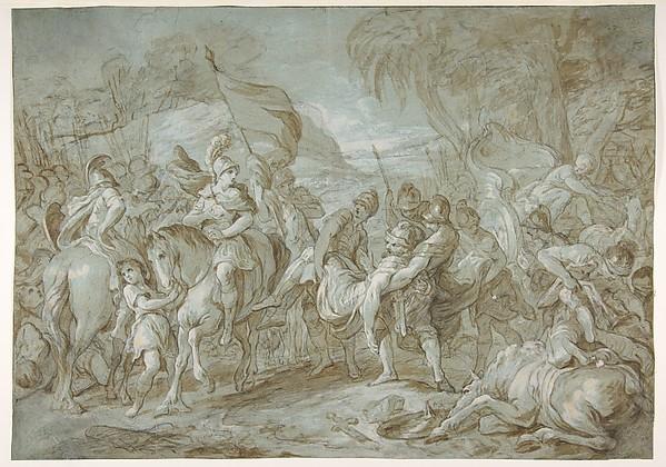 Alexander and Porus