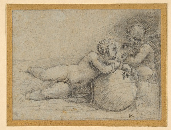 The Christ Child and Saint John the Baptist