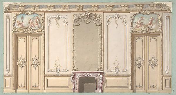 style louis xv decoration. Black Bedroom Furniture Sets. Home Design Ideas