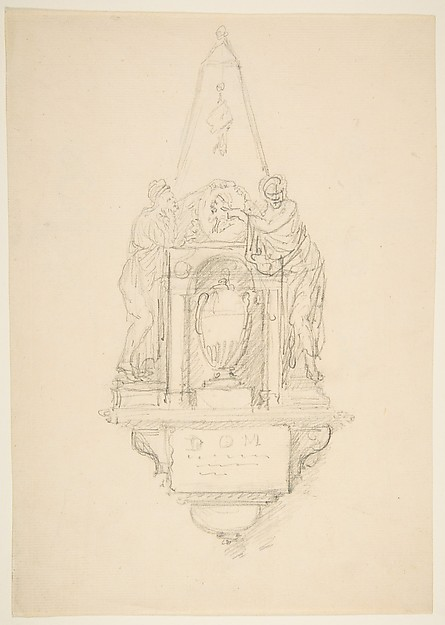 Design for a Monument (recto)