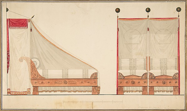Design for a Bed and Canopy