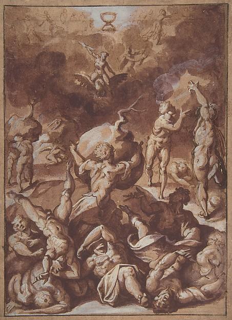 Jupiter Fighting the Giants.