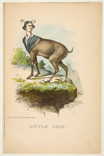 Little Dear, from The Comic Natural History of the Human Race