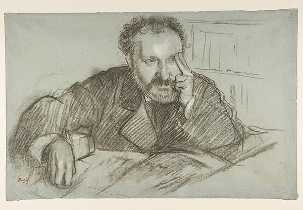 This is What Edgar Degas and Edmond Duranty (18331880) Looked Like  in 1879