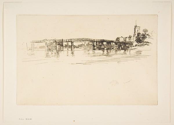 The Little Putney, No. 1 (Little Putney Bridge)