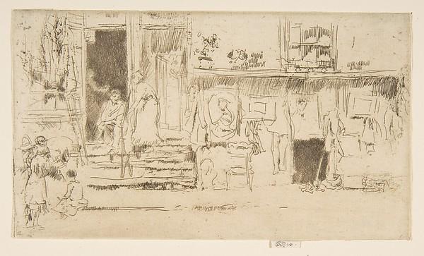 Old-Clothes Shop, No. 2 (Rag Shop)