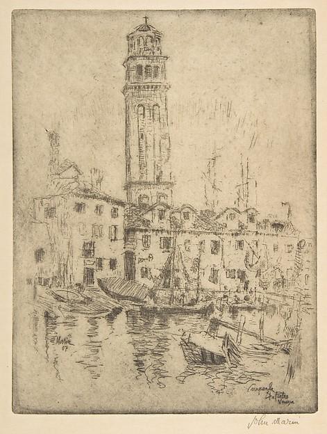 Campanile S. Pietro, Venice