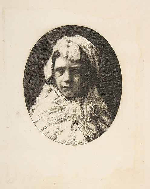 Henri Houssaye, as a child
